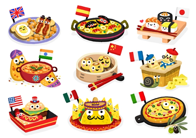Food from around the world food for Around the world cuisine